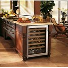 "Viking 24"" Undercounter Dual Zone Wine Cellar"