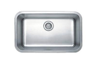 9 Deep Under Mount Stainless Steel Kitchen Sink Single Bowl