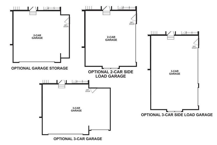 Floorplan - First Floor Options