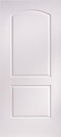 Interior Doors-2 Panel Roman Arch/Continental Doors