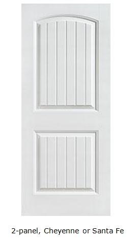 8\u0027 interior doors - 2 panel Cheyenne or Santa Fe  sc 1 st  Option Details & Option Details