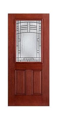 Option details for Therma tru fiber classic mahogany price